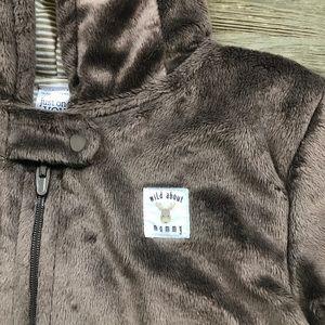 51fbdc8a3 Carter's One Pieces | Carters Moose Fleece Padded Snowsuit | Poshmark